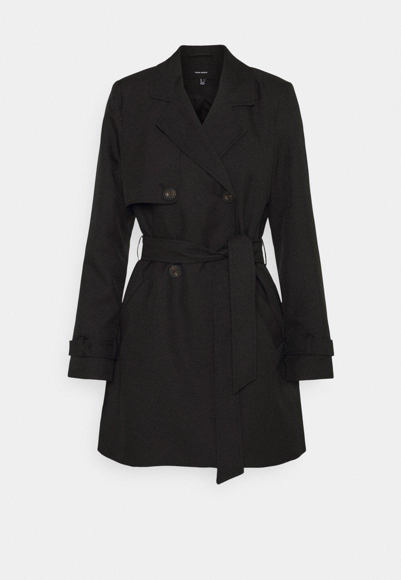 Vero Moda - VMCELESTE  - Trenchcoat - black
