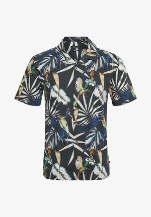 MATROSTOL RESORT 2 PRINTED PALM - Shirt - mediterranien blue
