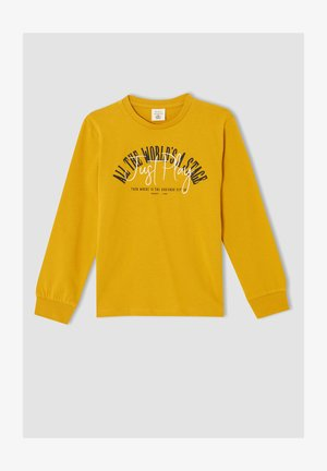 REGULAR FIT - Sweatshirt - yellow