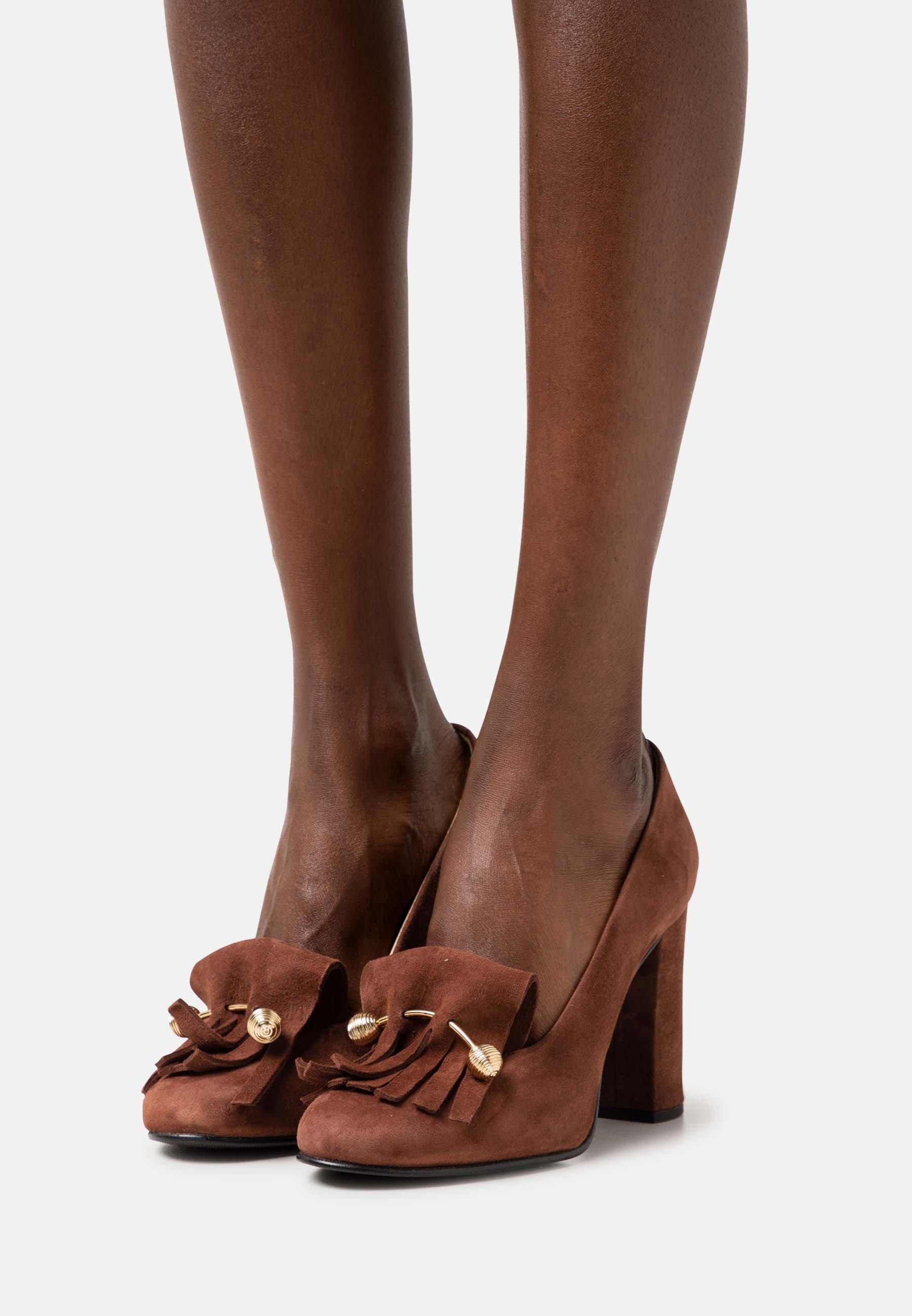 Women SFMEL FRINGES - High heels