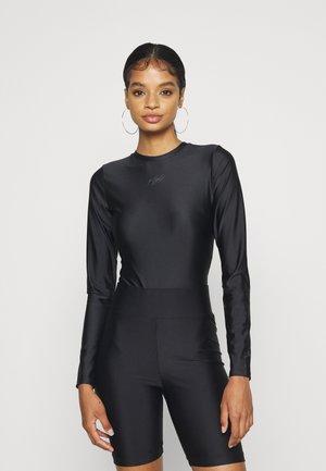 ESSEN BODYSUIT - Maglietta a manica lunga - black/smoke grey