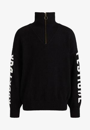 MET TAPEDETAIL - Fleece jumper - black