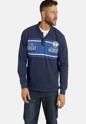 DANPER - Polo shirt - dunkelblau