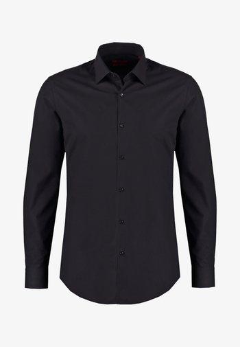 JENNO SLIM FIT - Skjorta - black