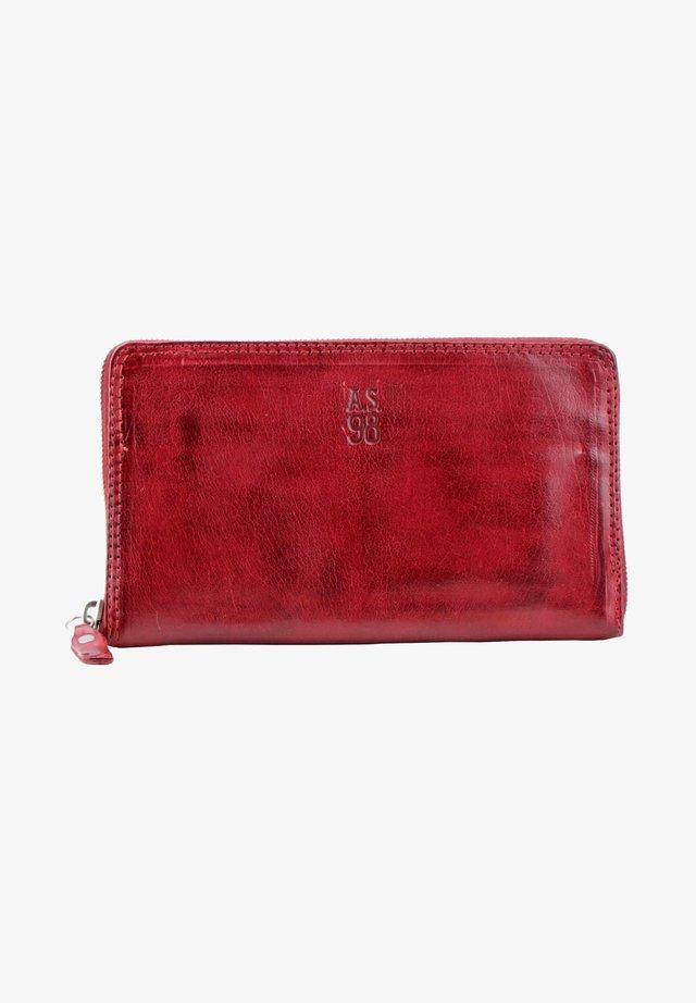 Wallet - cardinal