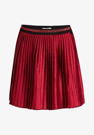 MET GLITTERDETAILS - Jupe trapèze - vintage red