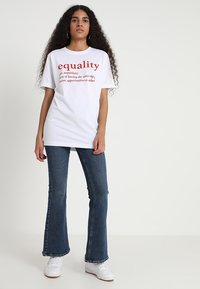 Merchcode - EQUALITY DEFINITION TEE - Print T-shirt - white - 1