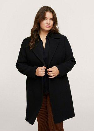LAPELS  - Classic coat - black