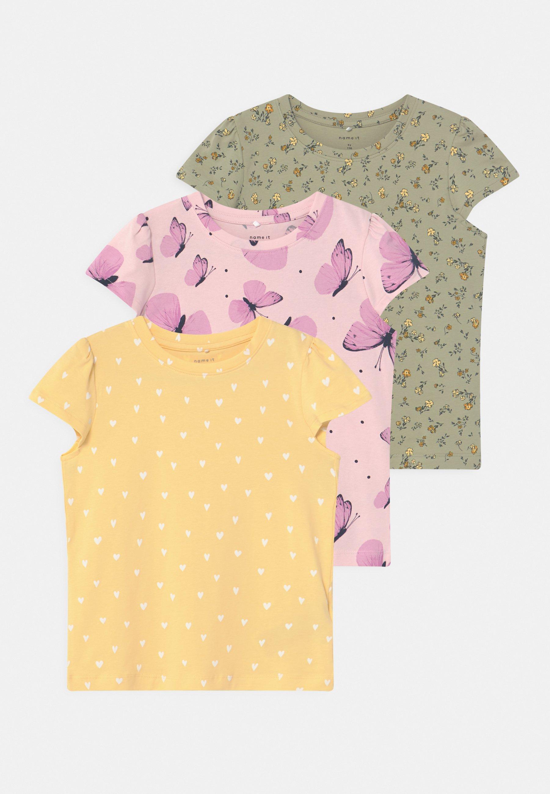 Kids NMFSONYA 3 PACK - Print T-shirt