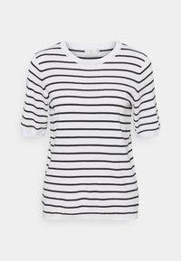 Kaffe - KAMALA - Print T-shirt - chalk/black - 0