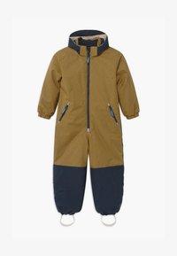 Finkid - TURVA ICE UNISEX - Snowsuit - cinnamon/navy - 0