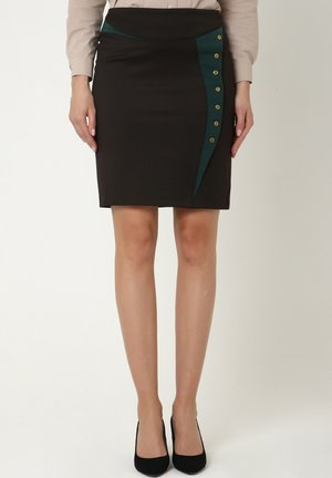 ROCK ROCK GUCHANA - Pencil skirt - braun