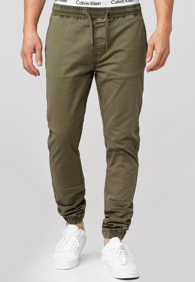 FIELDS - Pantalones - army