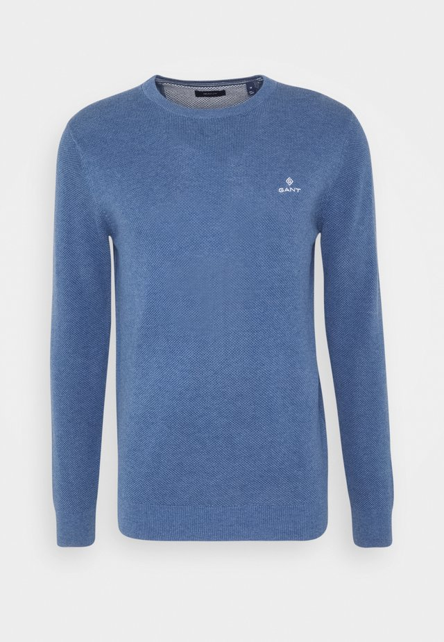 C-NECK - Maglione - denim blue