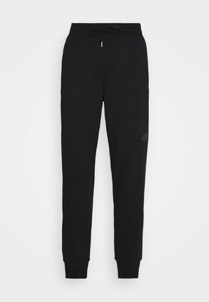 LIGHT PANT WROUGHT IRON - Tracksuit bottoms - black