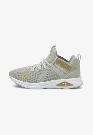 ENZO  - Neutral running shoes - gray violet-puma team gold