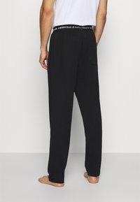 KARL LAGERFELD - LOGO TROUSER - Pyjama bottoms - black - 2