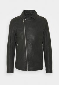 Lindbergh - BIKER JACKET - Leather jacket - black - 9