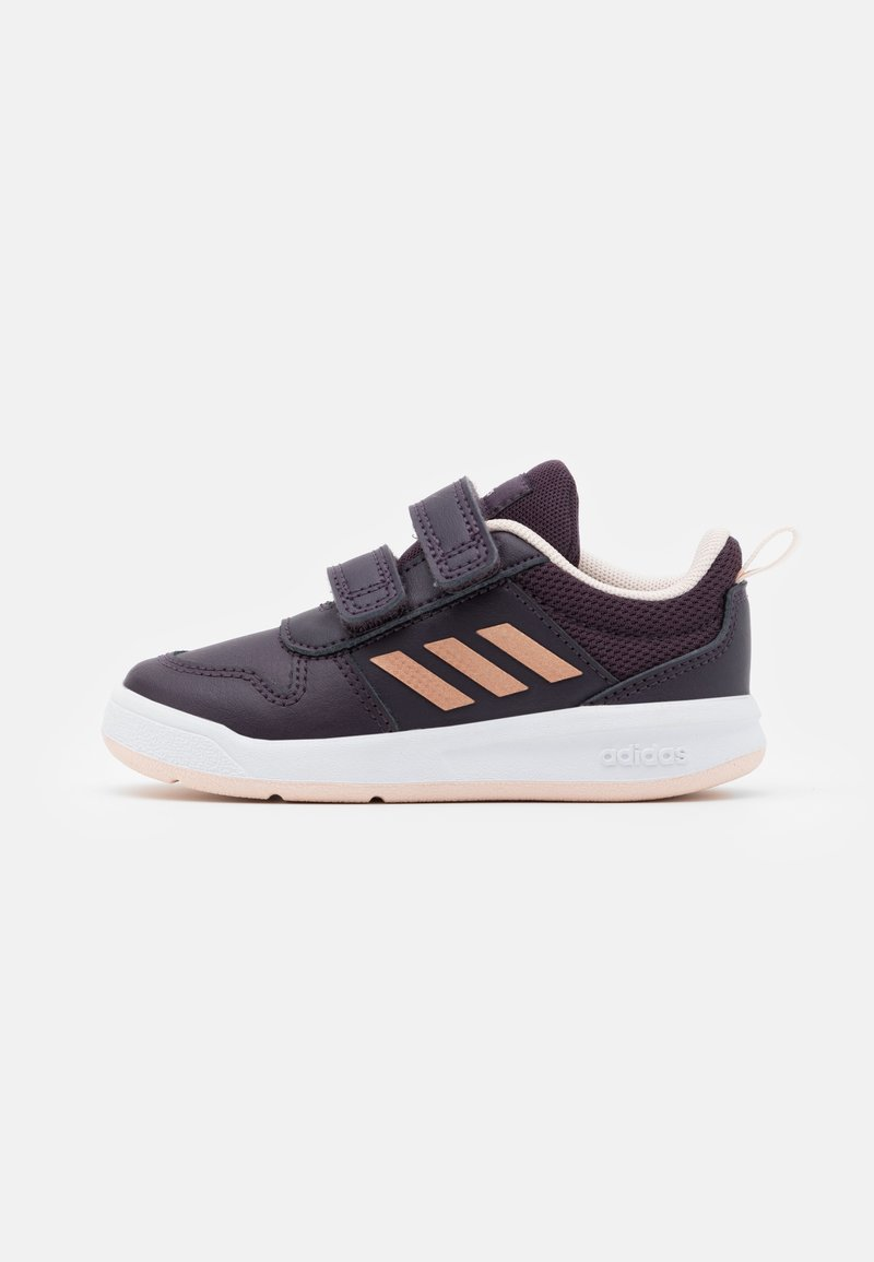 adidas Performance - TENSAUR UNISEX - Obuwie treningowe - noble purple/copper metallic/pink tint