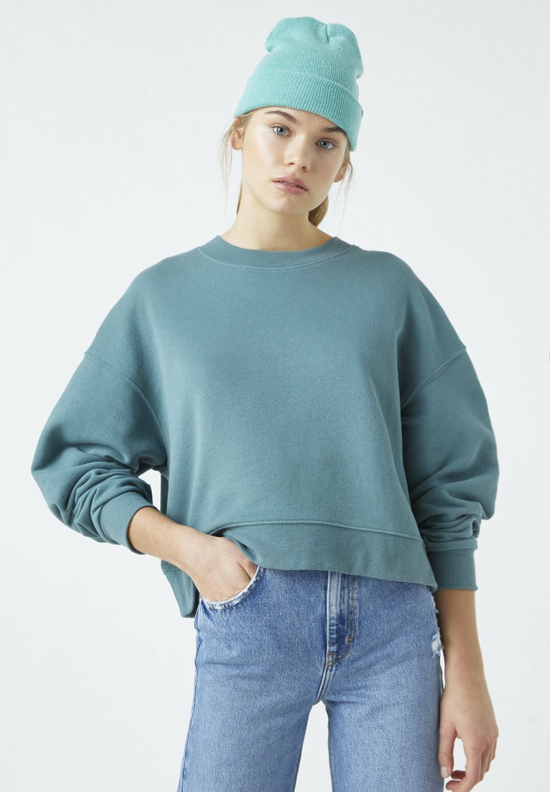 PULL&BEAR - Sweatshirt - green