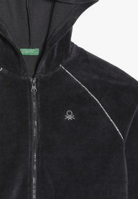 Benetton - JACKET HOOD - Mikina na zip - grey - 4