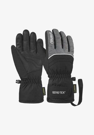 TOMMY - Gloves - black/black melange