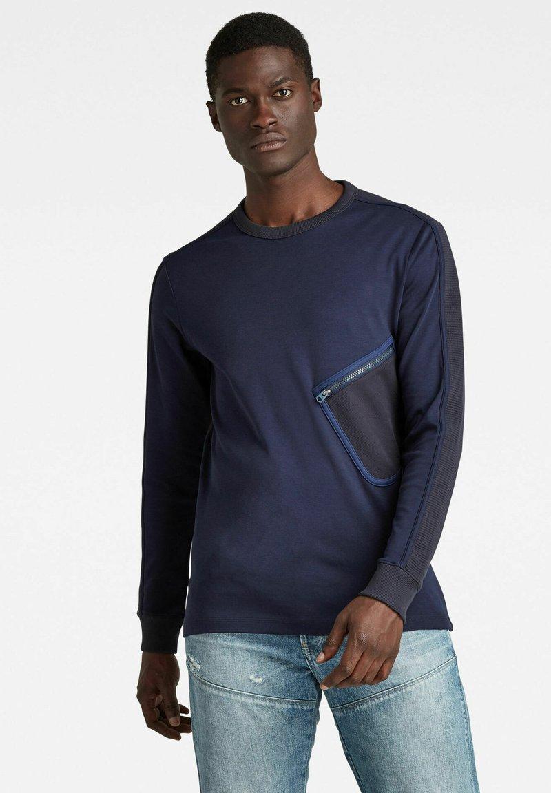 G-Star - MESH POCKET TWEETER - Long sleeved top - warm sartho