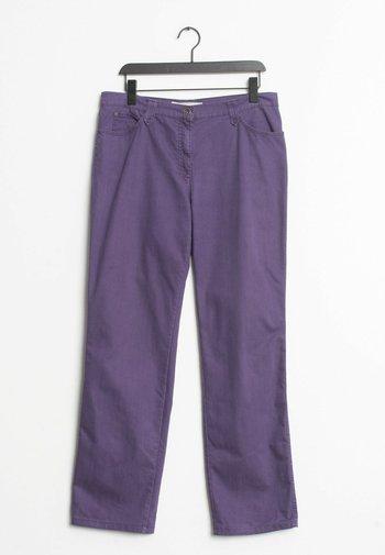 Straight leg jeans - purple