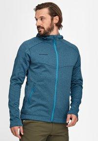 Mammut - NAIR  - Fleece jacket - sapphire melange - 0