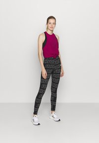 adidas Performance - TECH BOS TANK - Funktionsshirt - berry - 1