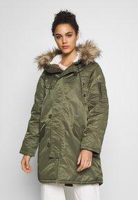 American Eagle - FLIGHT  - Winter coat - olive - 0