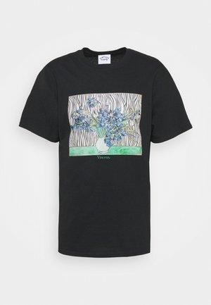 VINCENT ART PRINT TEE - Print T-shirt - black