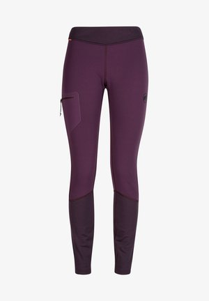 ACONCAGUA LONG - Leggings - blackberry