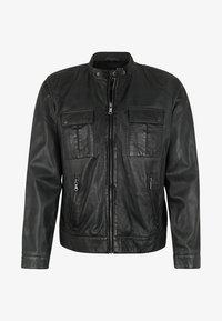 Capitano - NEBRASKA  - Leather jacket - anthracite - 3