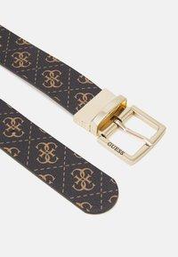 Guess - TYREN PANT BELT - Belt - brown - 1