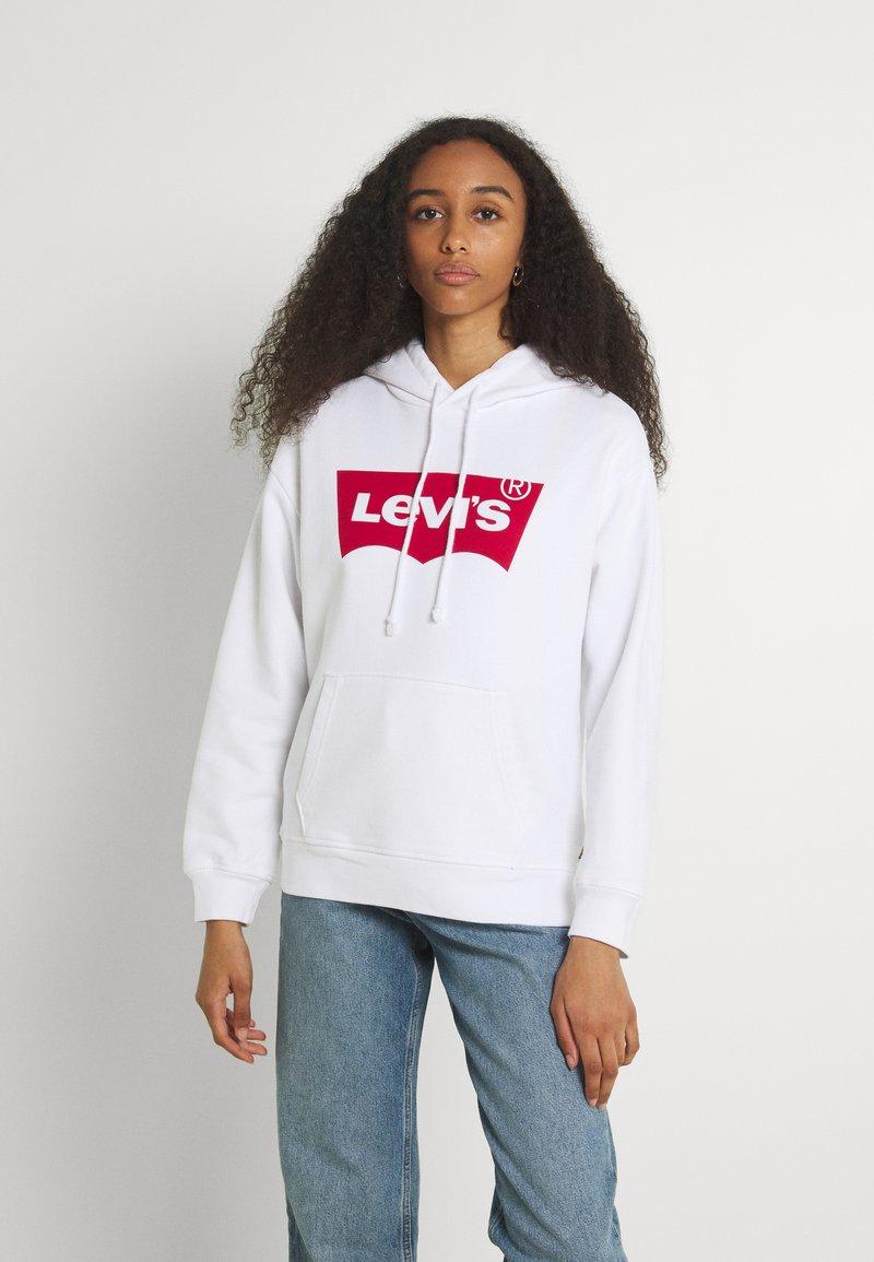 Levi's® - GRAPHIC STANDARD HOODIE - Felpa con cappuccio - white