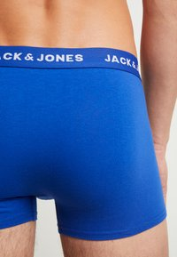 Jack & Jones - JACSUMMER COLOR TRUNKS 5 PACK - Pants - diva pink/safety yellow/viridian - 3