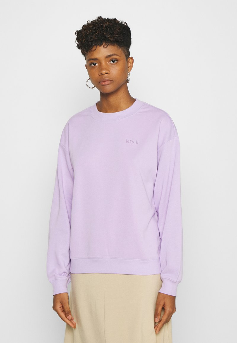 Monki - Sweatshirt - lilac