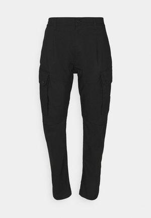 SNIPER COMBAT - Cargo trousers - black