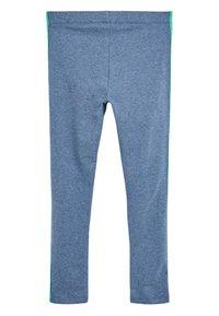 Next - ANIMAL PRINT - Leggings - Trousers - mottled light blue - 1