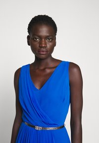 Lauren Ralph Lauren - GRACEFUL LONG GOWN - Vestido de fiesta - portuguese blue - 3