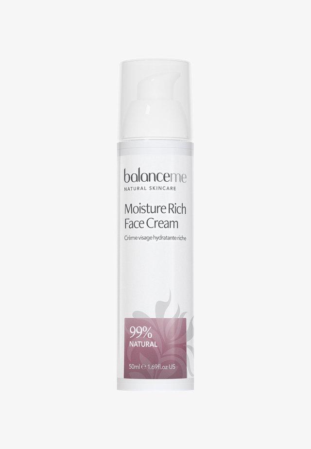 MOISTURE RICH FACE CREAM 50ML - Face cream - neutral