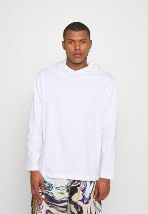 JONAH HOOD - Långärmad tröja - white
