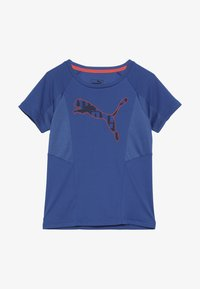 Puma - ACTIVE SPORTS TEE  - Print T-shirt - galaxy blue - 3