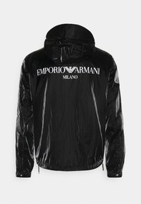 Emporio Armani - BLOUSON JACKET - Summer jacket - black - 1