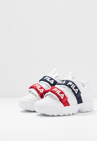 Fila - DISRUPTOR STRAPS - Zapatillas - white - 4