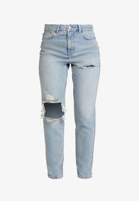 Topshop - Jeans Relaxed Fit - bleached denim - 4