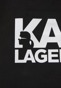 KARL LAGERFELD - EXCLUSIVE WRITING - Cabas - black - 4