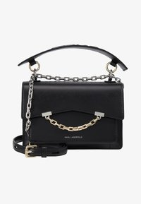 KARL LAGERFELD - SEVEN SHOULDERBAG - Across body bag - black - 6