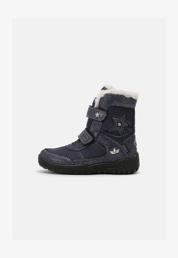 ALANIS V - Winter boots - marine/silber